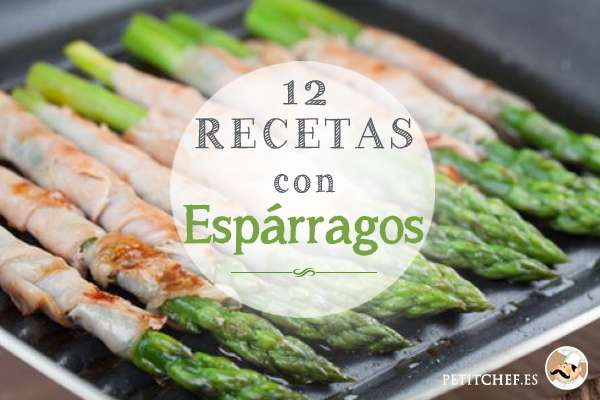 12 recetas con esp rragos for Cocinar esparragos