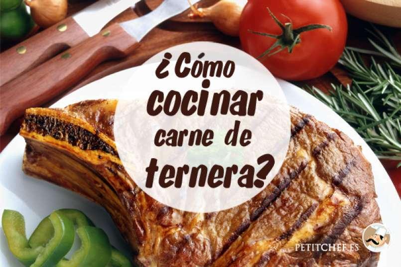 C mo cocinar carne de ternera - Cocinar rabo de ternera ...