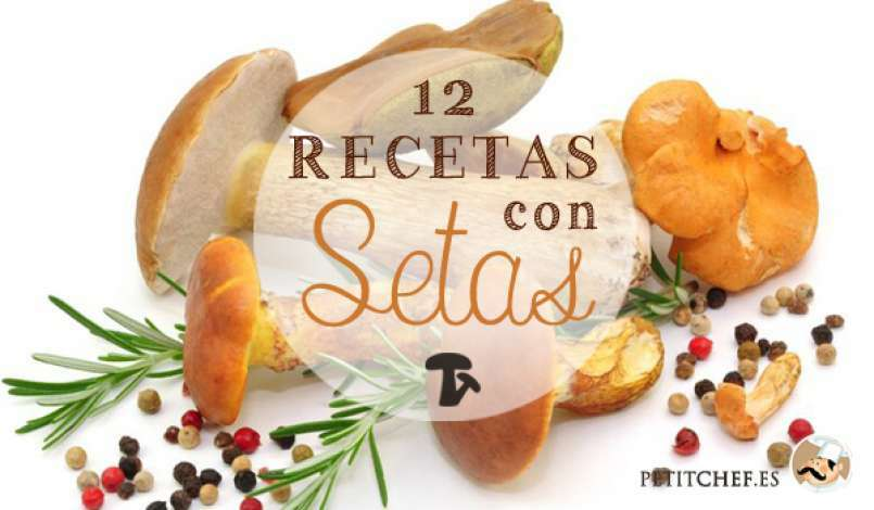 12 recetas con setas