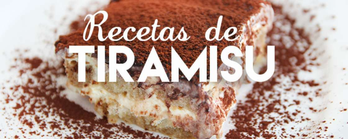 Tiramisú clásico y alternativas