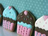 Receta Galletas decoradas: cupcakes