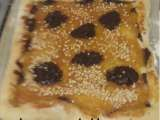 Receta Pizza de mermelada y chocolate