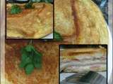 Receta Sandwich mixto (fussion cook)
