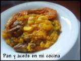 Receta Paella mixta con higaditos de pollo (superchef)