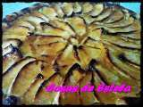 Receta Tarta de manzana light
