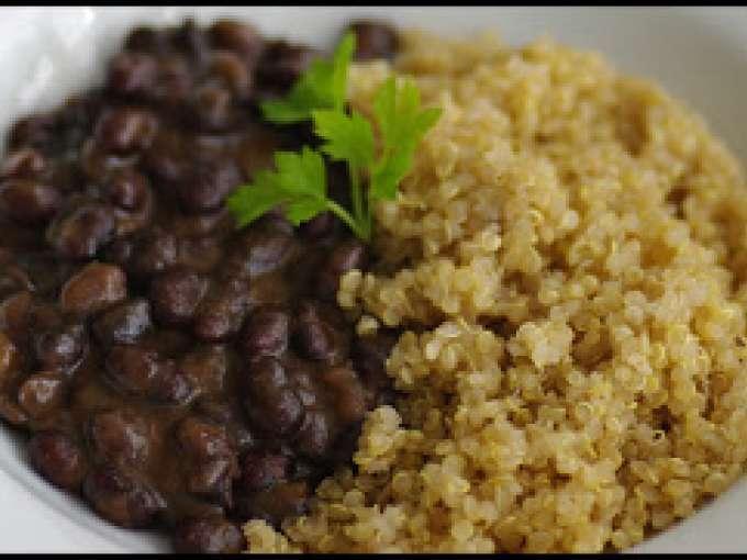 Jud as negras con quinoa y cebolla receta petitchef for Cocinar judias negras