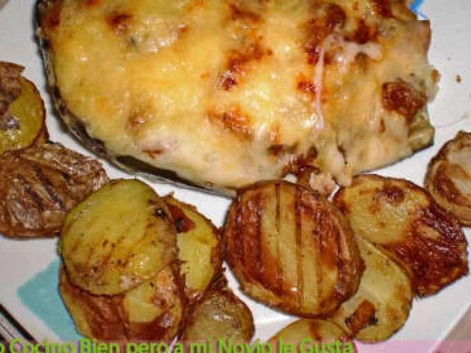 Berenjenas rellenas de carne al horno receta petitchef - Berenjenas rellenas al horno ...