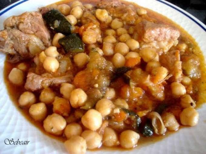 Costillas con garbanzo 48 recetas petitchef - Garbanzos con costillas ...
