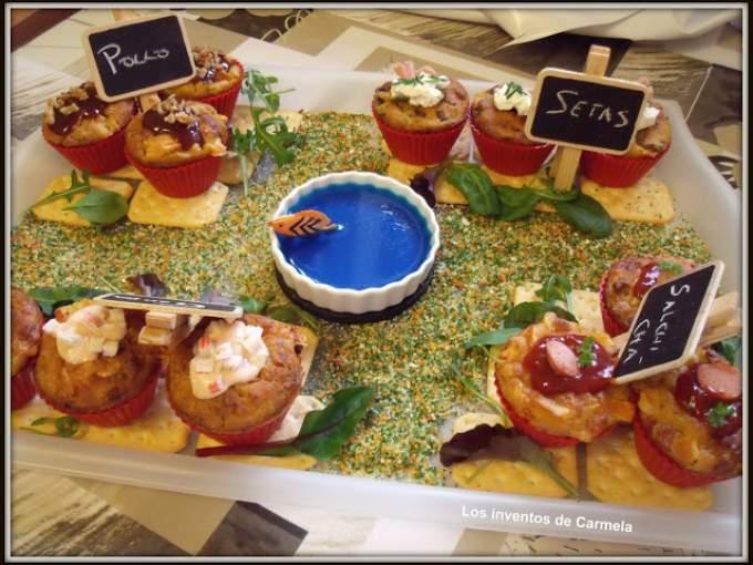 Muffins de paellas variadas en jard n receta petitchef for Preparacion de jardines