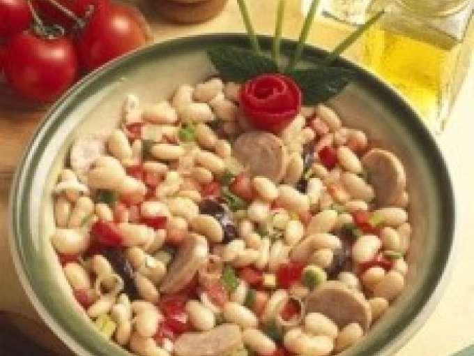 Ensalada de jud as blancas y butifarra receta petitchef - Ensalada fria de judias blancas ...