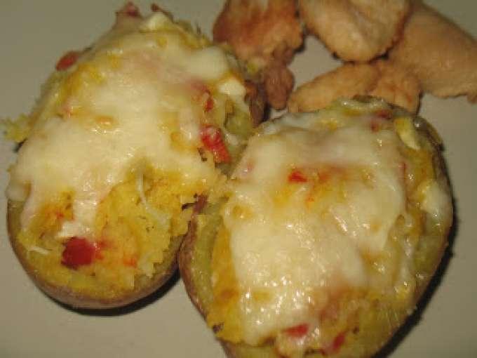 Pimientos rojos con patatas 428 recetas petitchef for Cocinar patatas rellenas