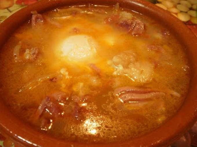 Sopa castellana con piment n la chinata receta petitchef - Sopa castellana youtube ...
