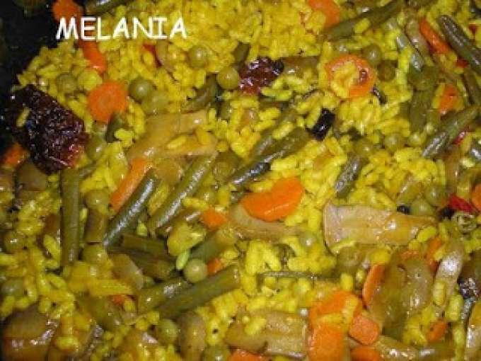 Paella de verduras receta petitchef for Como hacer paella de verduras