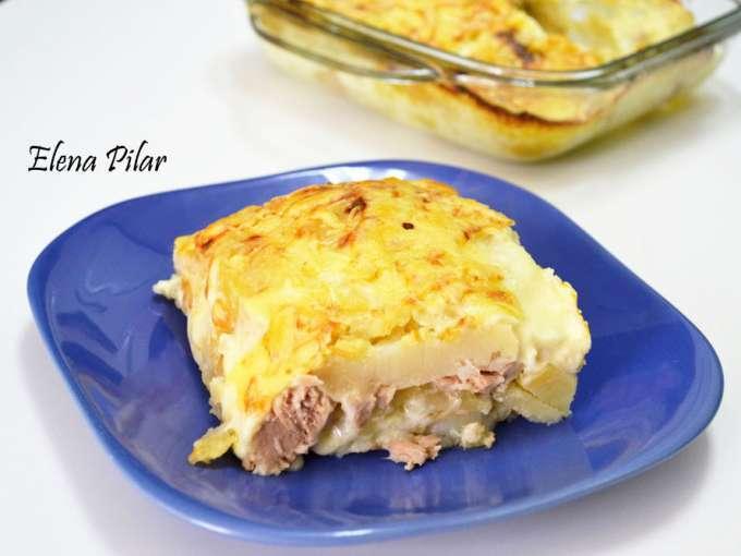 Gratinado de patatas y bonito receta petitchef - Gratinado de patata ...