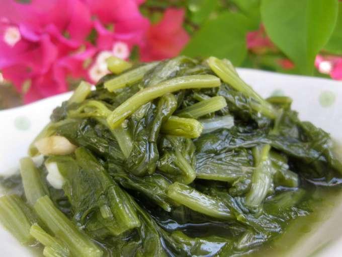 Espinacas rehogadas con ajo (con y sin thermomix)