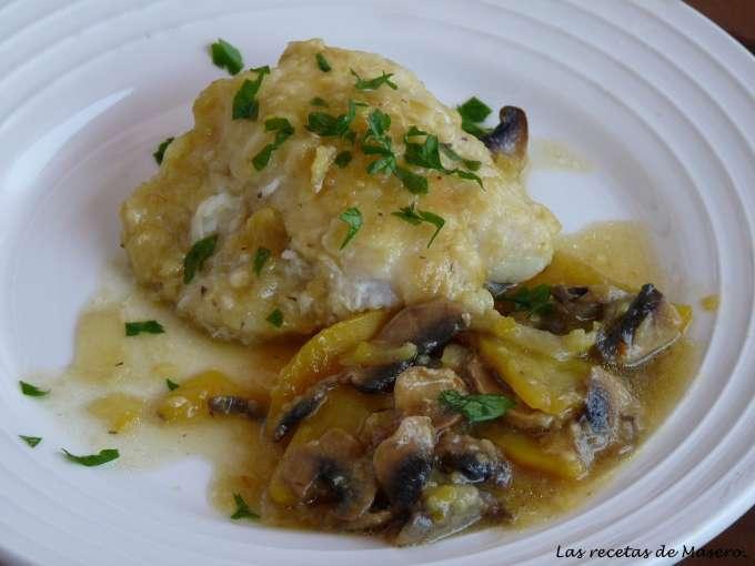 Bacalao con champi ones modo chef o matic pro receta - Recetas cocina chef matic pro ...