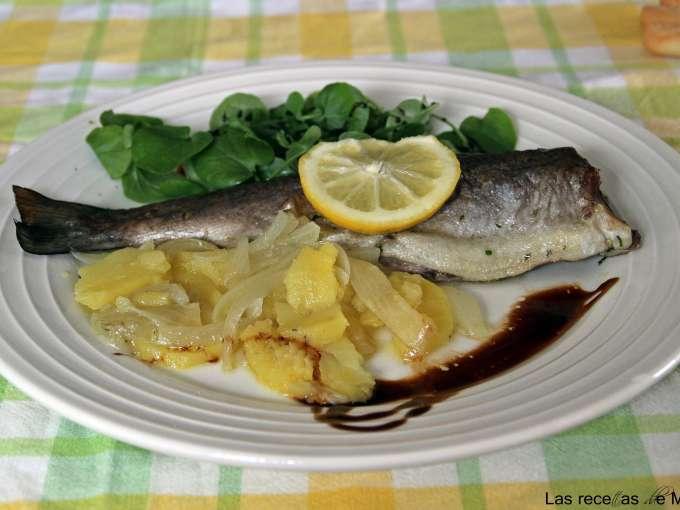 Trucha asalmonada al horno receta petitchef - Como cocinar la trucha ...