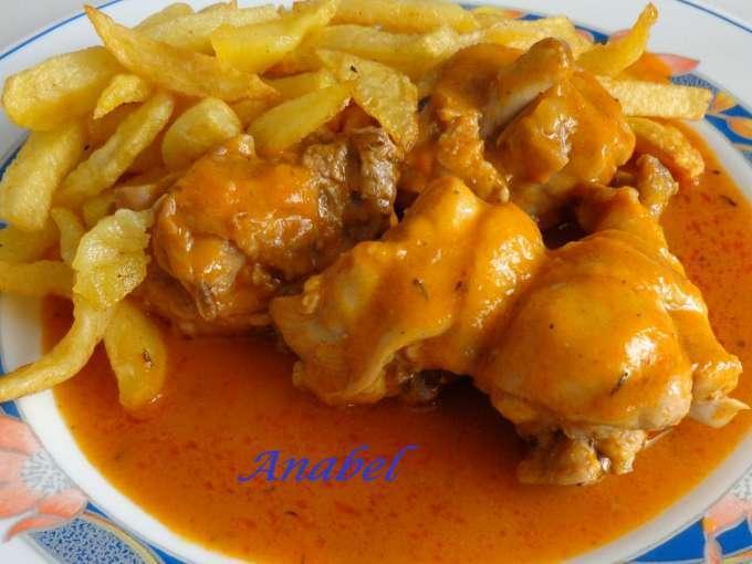 Pollo en salsa en olla r pida receta petitchef - Salsas para el pollo al horno ...