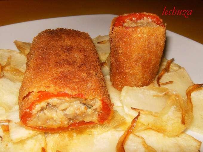 Hemc 27 canelones de pimientos rojos receta petitchef - Fotos de canalones ...