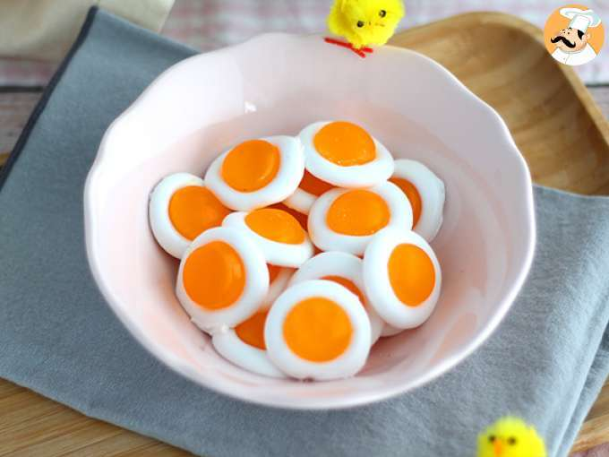 Gominolas de huevo (fáciles y bien explicadas)
