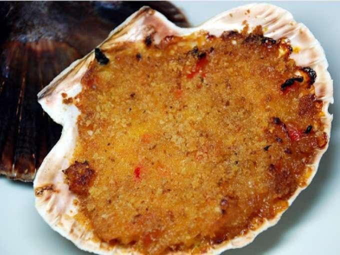 Vieiras al horno receta petitchef for Cocinar vieiras