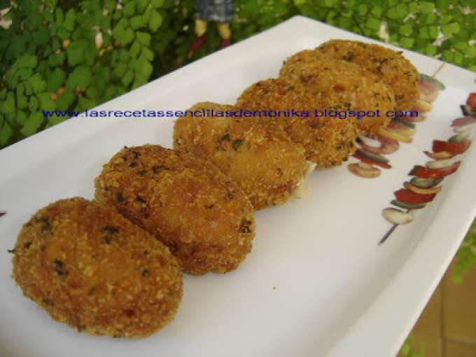 Croquetas de pescado at n en la thermomix receta petitchef - Petitchef thermomix ...