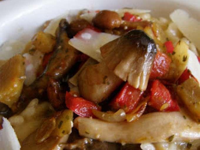 Risotto de verduras con setas receta petitchef - Risoto con setas ...