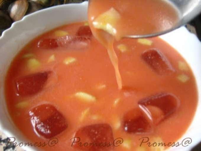 Gazpacho rb thermomix tm31 receta petitchef - Petitchef thermomix ...