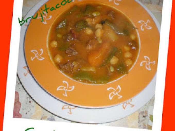 Garbanzos con judias verdes y calabaza en thermomix - Petitchef thermomix ...
