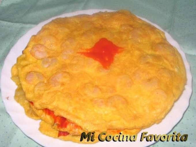 Tortilla de tres pisos receta petitchef for Telepizza 3 pisos
