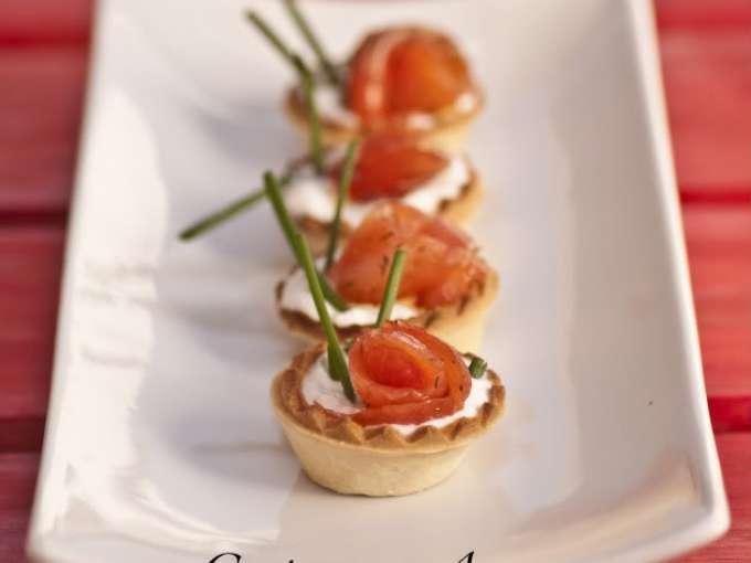 Bocaditos de salm n y queso fresco receta petitchef - Aperitivos de salmon ahumado ...