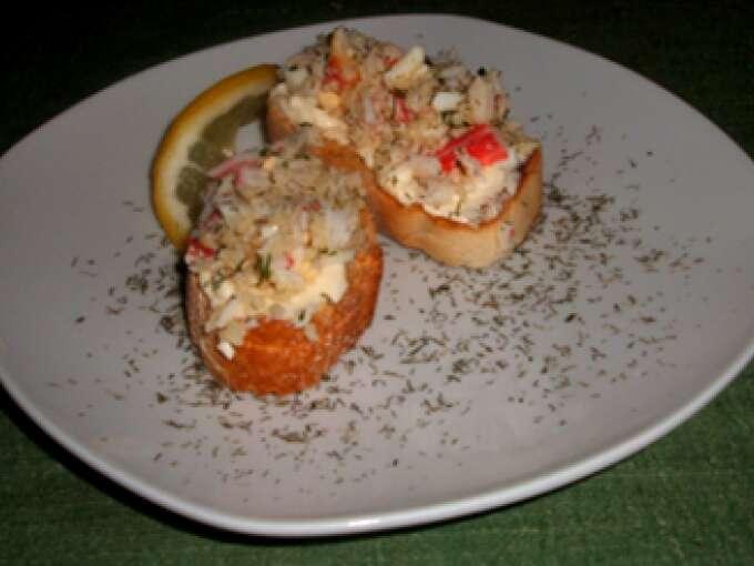 Canap de cangrejo receta petitchef for Canape de cangrejo