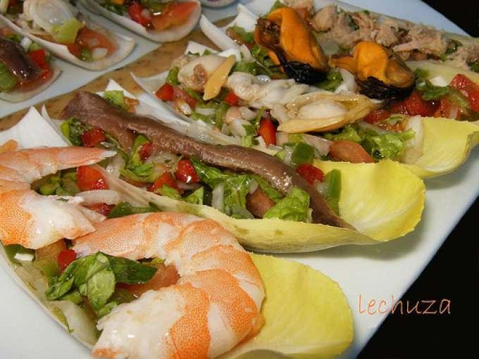Endivias rellenas 6 recetas petitchef for Cenas faciles y economicas