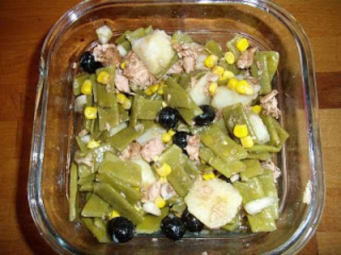 Ensalada de jud as verdes fria receta petitchef - Ensalada de judias verdes arguinano ...