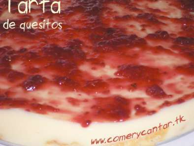 Receta Tarta de quesitos