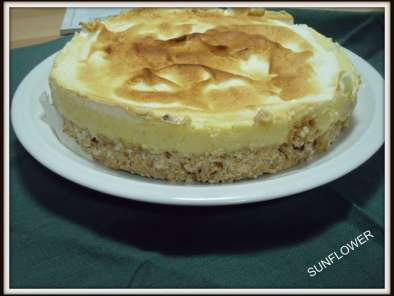 Receta Pastel de limón y merengue ( lemon pie )
