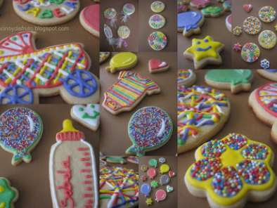 Receta Galletas decoradas infantiles