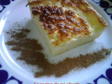 Receta Tarta de queso-coco light
