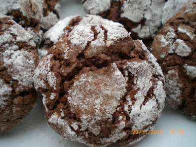 Receta Galletas mexicanas de chocolate