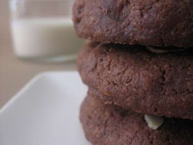 Receta COOKIES DE CHOCOLATE Y FRUTOS SECOS