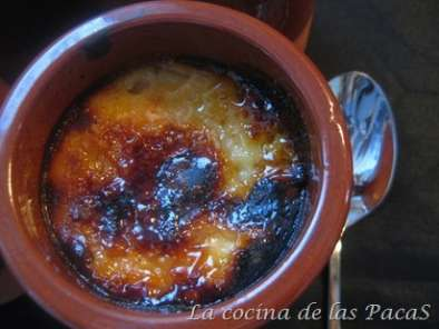 Receta Doble crema catalana (thermomix)