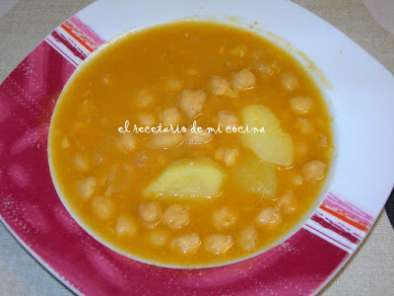 Receta Garbanzos tm31