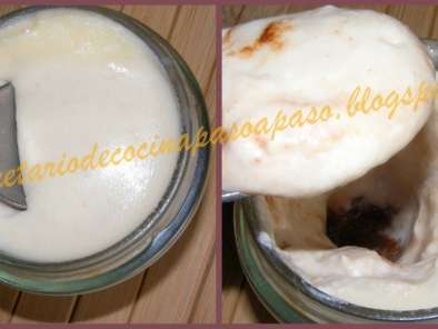 Receta yogur de queso mascarpone y chocolate (sin yogurtera)