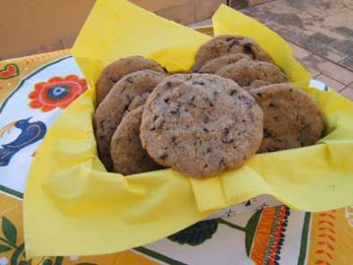 Receta Cookies con chips de chocolate