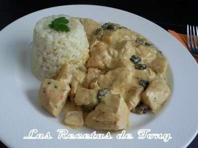 Receta Pollo al curry estilo madras