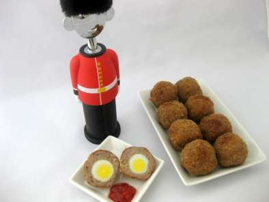 Receta Huevos a la escocesa o scotch eggs