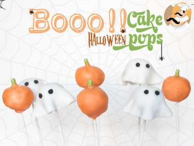 Receta Cake pops con decoración halloween