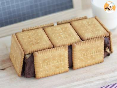 Receta Tarta bloque de galletas y chocolate