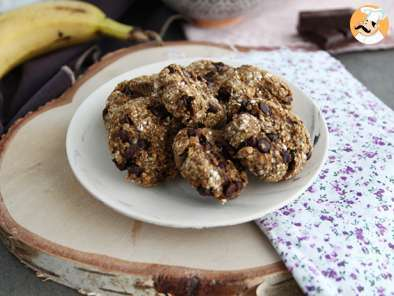 Receta Cookies saludables 3 ingredientes