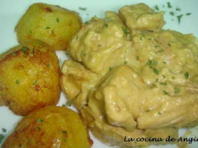 Receta Pollo al curry con manzana